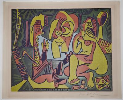 Pablo Picasso, 'Le Dejuneur sur l'Herbe', 1962