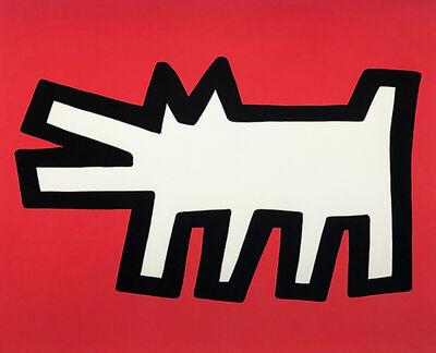 Keith Haring, 'Barking Dog', 1990