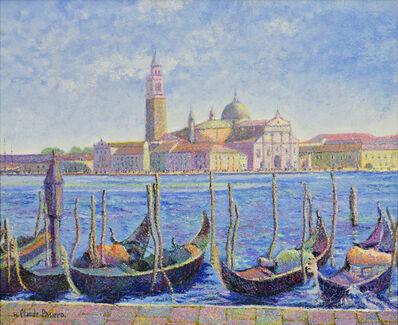 Hugues Claude Pissarro, 'Les Gondoles de Frères Capriani (Venise)', 21st century
