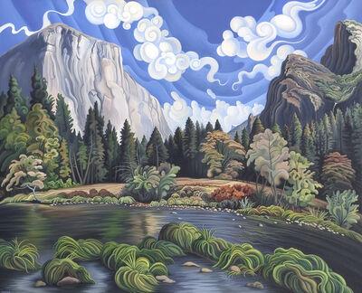 Phyllis Shafer, 'Autumn in Yosemite Valley'