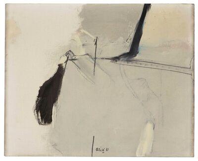 Rodolfo Aricò, 'Piccolo evento', 1961