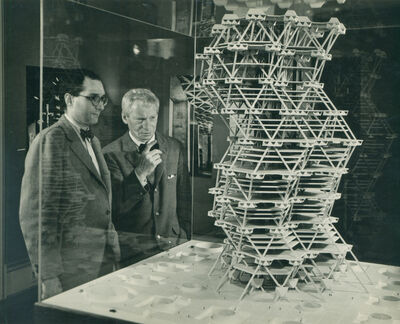 Louis Kahn, 'City Tower (model)', 1958