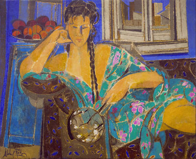 Alfredo Roldan, 'Mujer con kimono', 2017