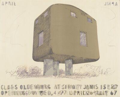 Claes Oldenburg, 'English Plug', 1967