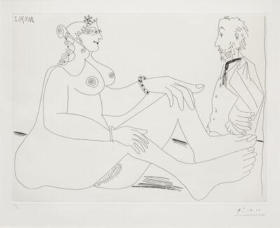Pablo Picasso, 'Fille au Bracelet, avec Degas les Mains dans le Dos, from 156 Series', 1971