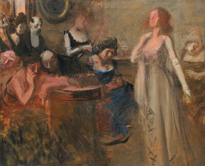 Jean-Louis Forain, 'The Recital', ca. 1900