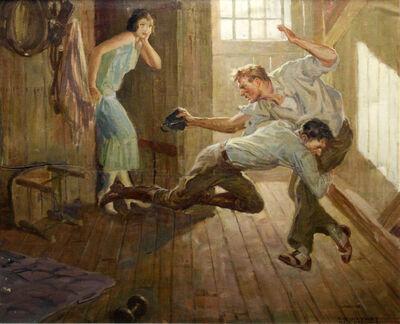 Courtney Allen, 'La Bagarre', ca. 1945