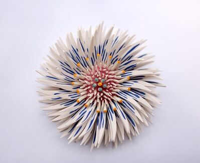 Zemer Peled, 'Shards Flower 1', 2019
