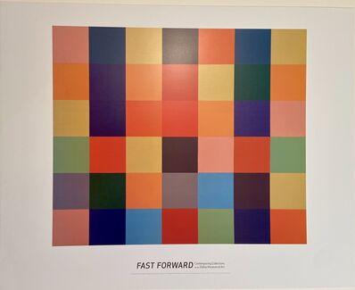 Ellsworth Kelly, 'Ellsworth Kelly, Sanary Museum Exhibition Lithographic Poster', 2007