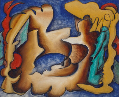 John Storrs, 'Fish Abstraction', 1938