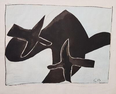 Georges Braque, 'The Black Birds', 1958