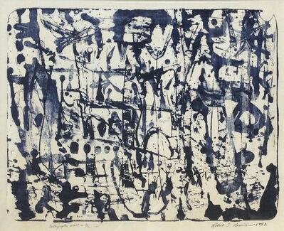 Robert S. Neuman, 'Calligraphic Wall', 1952