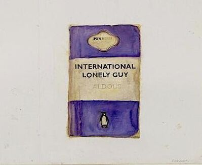 Harland Miller, 'International Lonely Guy - Aldous', 2003