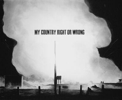 Trevor Guthrie, 'My Country #2', 2007