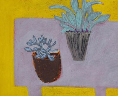 Angela A'Court, 'Two Plants', 2016