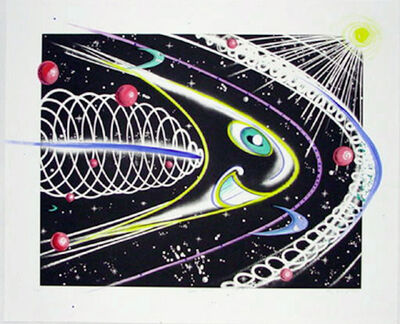 Kenny Scharf, 'Space Traveler', 2011