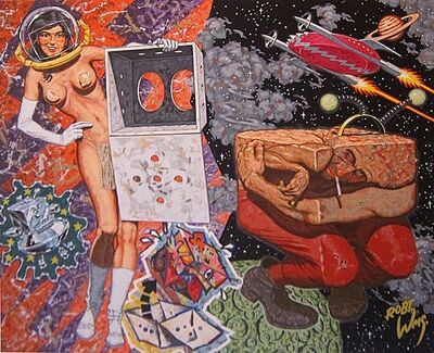 Robert Williams, ' The Waterhead who was Raised in a Box', 2010