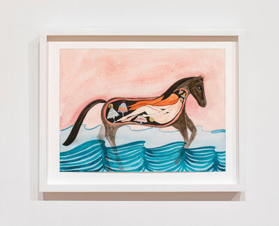 Dana Sherwood, 'Girl in the Belly of a Horse', 2019