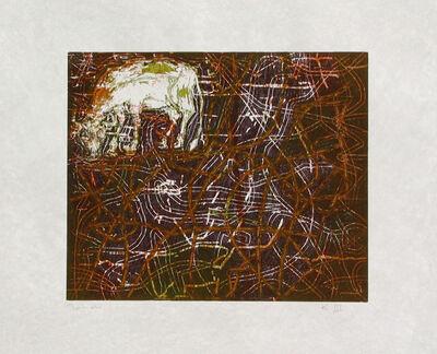 """Francisco Toledo, '""""La Vaca"""" (Cow)', 1991"""