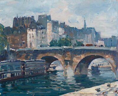 John Fulton Folinsbee, 'Pont Neuf, Paris', 1926