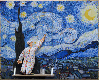 Stephen Hansen, 'Starry Night (van Gogh)', 2015