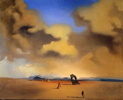 Salvador Dalí, 'Spectre du soir sur la plage (Night Spectre on the Beach)', 1935