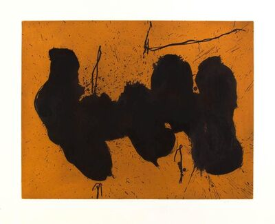 Robert Motherwell, 'Barcelona Elegy to the Spanish Republic', 1991