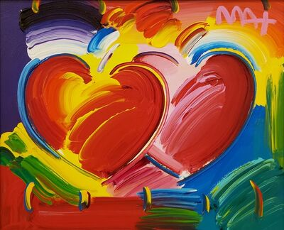 Peter Max, 'Two Hearts ', 2019