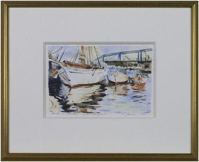 Craig Lueck, 'Boats at Anchor After Sargent', 2003