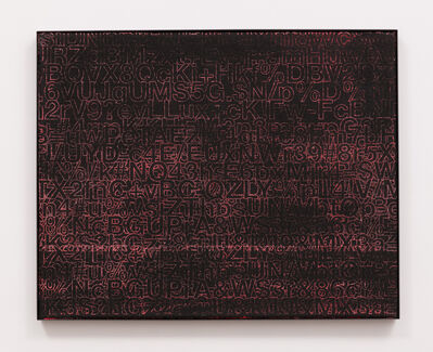 Johannes Wohnseifer, 'Password-Painting (siD)', 2017