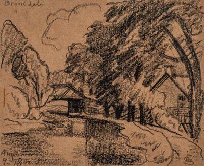 Oscar Bluemner, 'Brookdale', 1918