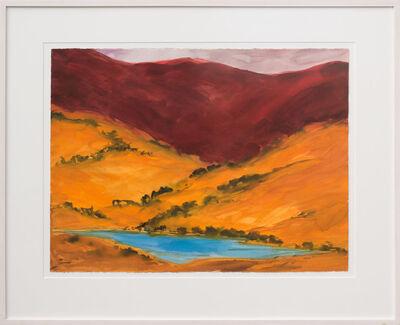 Elaine Holien, 'Red Cliffs at Rio Hondo'