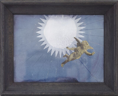 "Joseph Cornell, 'Cherub for a ""Space Sybil""', 1961-1962"