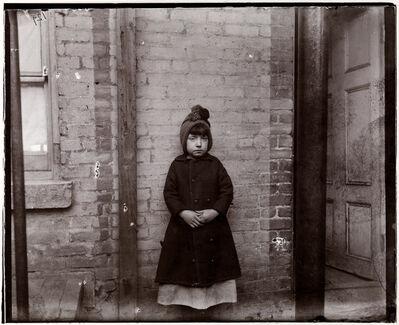 "Jacob A. Riis, '""I SCRUBS,"" LITTLE KATIE', 1891"