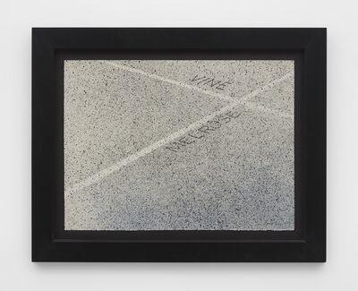 Ed Ruscha, 'Vine / Melrose', 1999