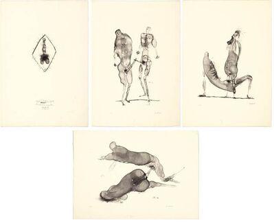 Paul Wunderlich, 'Qui s'explique', 1959