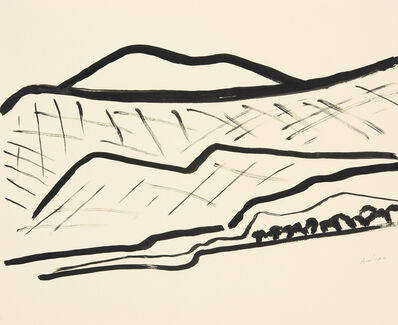 Etel Adnan, 'Montagnes 2', 2015