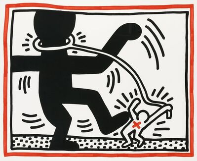 Keith Haring, 'Untitled #2, from Free South Africa', 1985