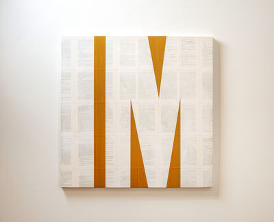 Tim Rollins and K.O.S., 'Invisible Man (after Ralph Ellison)', 2015