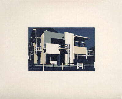 Andy Burgess, 'Rietveld Schröder House', 2016