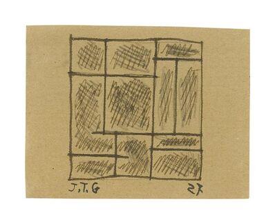 Joaquín Torres-García, 'CONSTRUCTIF / STRUCTURE', 1927