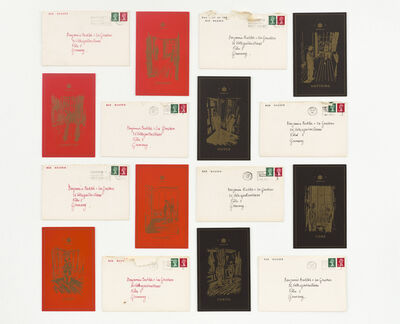 Gilbert and George, 'The Red Boxers', 1975