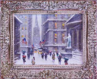 Guy Carleton Wiggins, 'Wall Street Winter', ca. 1950