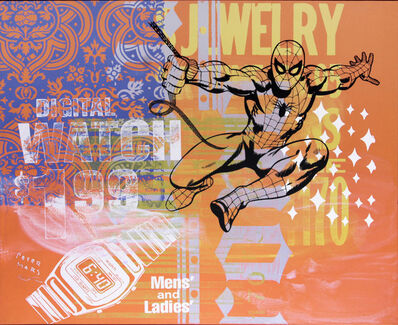 Peter Mars, 'Watch Out!: Spiderman', 2011