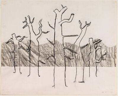 Kenneth Armitage, 'Five Trees (Line),  Richmond Park ', 1975
