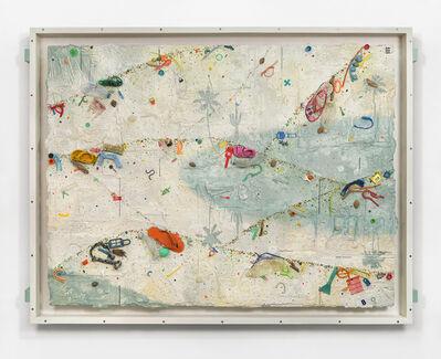 Ashley Bickerton, 'Dawn Estuary', 2020