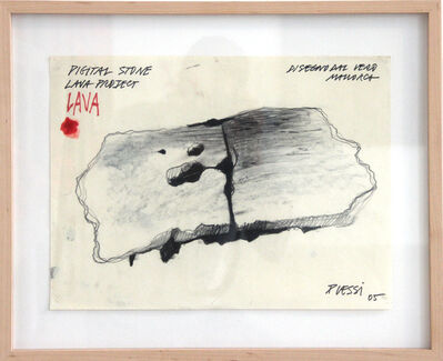 Fabrizio Plessi, 'Lava Project 2', 2005
