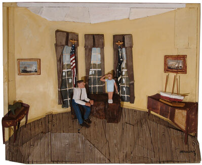 Miguel Herrera Zorrilla, 'Oval Office I'