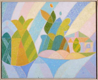Gennady Zubkov, 'Village Figures', 1980