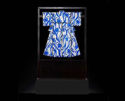 Marlene Rose, 'Cobalt Tulip Kimono ', 2020